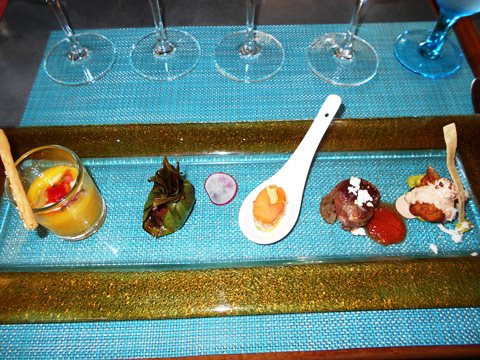 Food at wine Tasting 2
